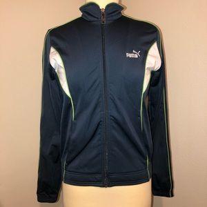 Puma women's zip up track jacket